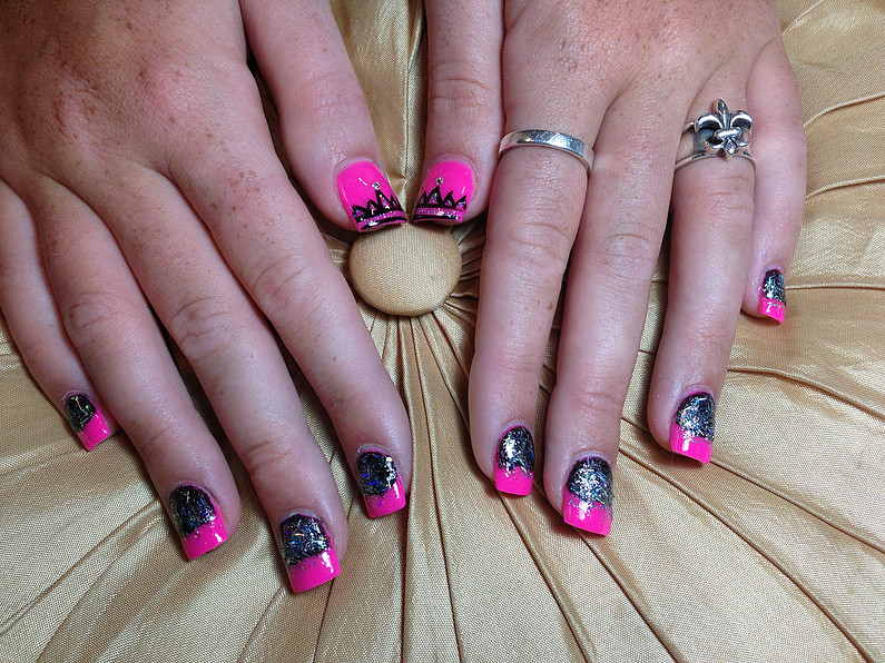 Newly Created Designs of  Our Customer Nails!